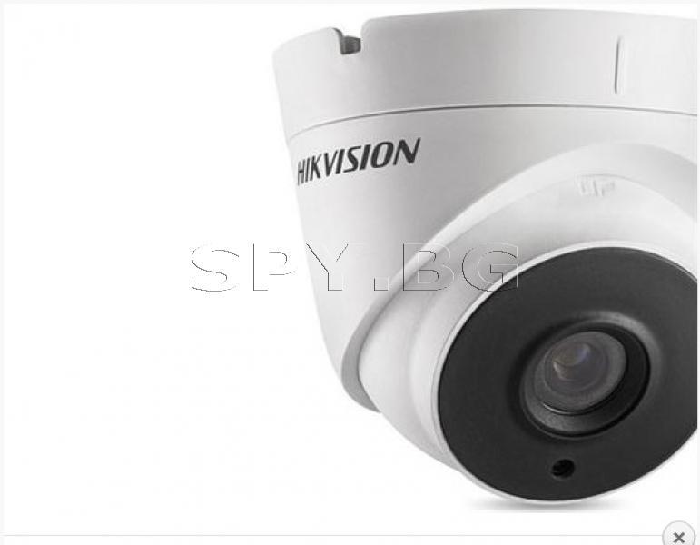 HD-TVI камера за външен монтаж 1MP HIKVISION