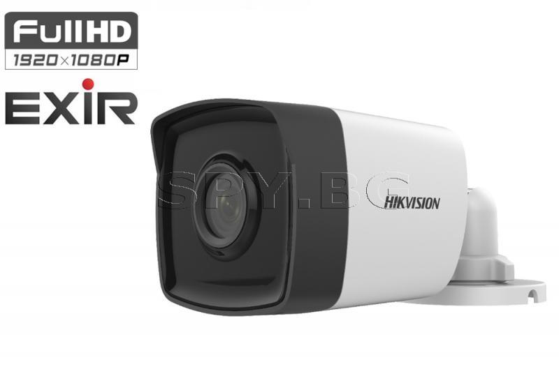 2MP Корпусна камера 4в1, EXIR до 80м - HIKVISION