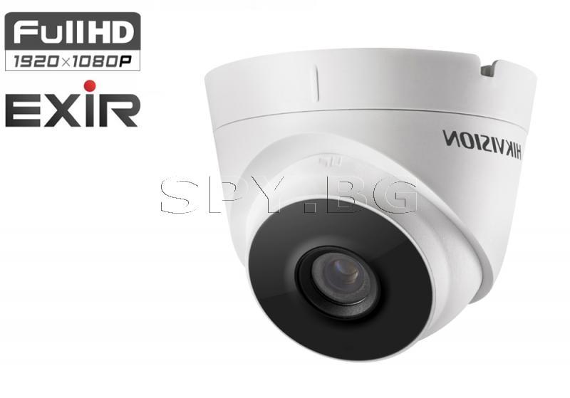 HD-TVI куполна Ultra-Low Light камера 2MPO 4в1 - HIKVISION